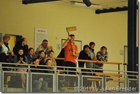 Fans der Damenmannschaft der HG Aalen-Wasseralfingen