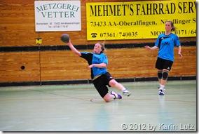Damenmannschaft der HG Aalen/Wasseralfingen