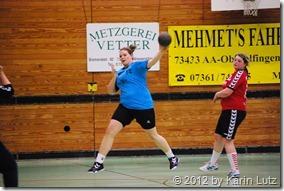 Die Damenmannschaft der HG Aalen/Wasseralfingen