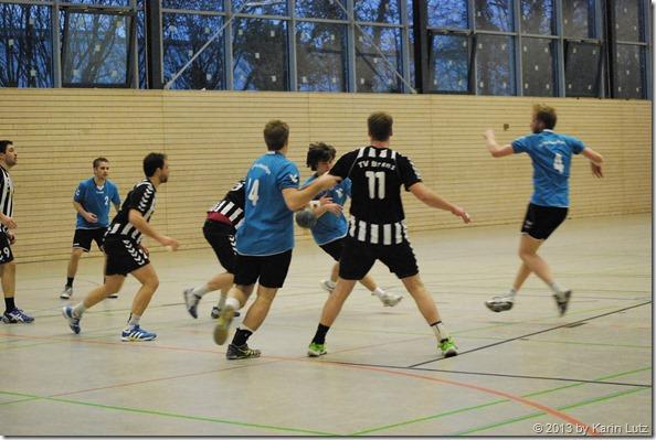 die 2.Herrenmannschaft der Handballgemeinschaft Aalen/Wasseralfingen