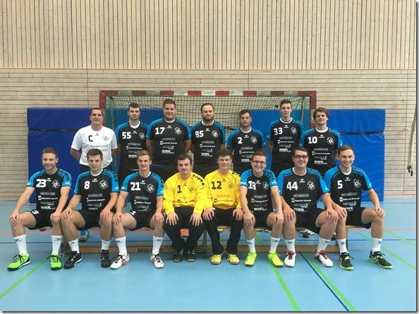 die erste Herrenmannschaft der HG Aalen/Wasseralfingen , Saison 2016/2017